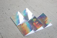 """TO BE OR NOT TO BE my way to read Shakespeare play """"Hamlet"""". 5 acts=5 small books. Covers made from glossy reflecting plastic fantastic material with hand imprinted letters."""