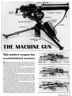 1942 ... 30 caliber '1917' machine gun