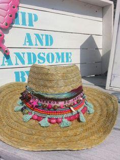 Ibiza style hats, zomerhoedje pimpen!