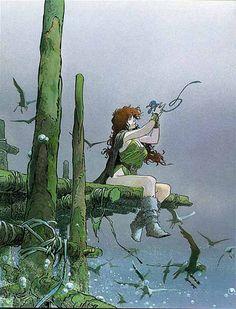 quest for the time-bird, 1983 - 1987, serge le tendre (author), regis loisel (artist)