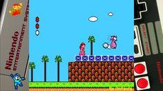 Super Mario 2 (NES) Gameplay Fase 1 Completa