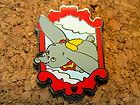 2012 Hidden Mickey Series Disney Pin - Dumbo's Circus - Dumbo #EasyNip