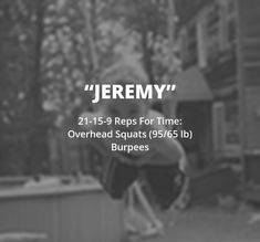 Reps For Time: Overhead Squats lb); Crossfit Kids Workouts, Crossfit At Home, Insanity Workout, Best Cardio Workout, At Home Workouts, Workout Fitness, Sandbag Workout, Fitness Memes, Funny Fitness