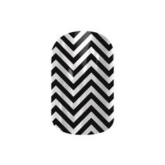 Jamberry Nail Wraps ($15) ❤ liked on Polyvore featuring black & white chevron, jamberry, chevron, nails and black and white chevron