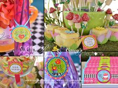Mad Hatter Tea Party Inspired Printable Party Package - DIY Print - Alice in Wonderland Inspired