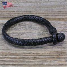 12 Strand Oval Braid Leather Bracelet by LBbyJ on Etsy, $85.00
