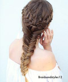 Braided Hairstyles by Braidsandstyles12. Tutorial : https://www.youtube.com/watch?v=R9gfBUACAbU
