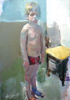 "Saatchi Online Artist: christos tsimaris; Oil, 2011, Painting ""max"""