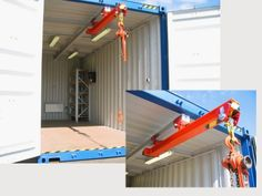 Inside container hoist