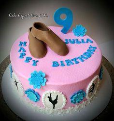 Jazz dance Birthday Cake