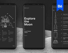 "Check out this @Behance project: ""Explore the Moon"" https://www.behance.net/gallery/55212387/Explore-the-Moon"