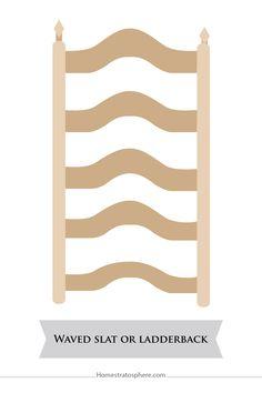 Waved Slat or Ladder