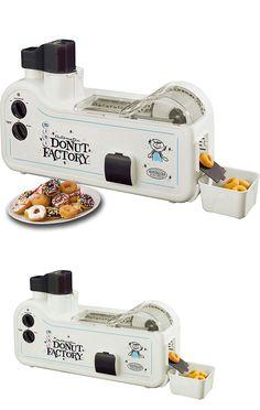 Other Small Kitchen Appliances 20685: Mini Donut Maker Nostalgia Electrics Automatic Doughnut Factory Machine Mdf-200 -> BUY IT NOW ONLY: $89.95 on eBay!