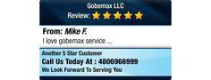 I love gobemax service