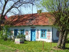 zalipie nocleg: http://domuani.pl/oferta.htm zalipie-malowana-wies.jpg (800×600)