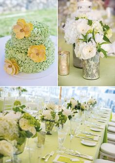 Fresh  Vintage 80th Birthday Party with 1930s flair -- color scheme