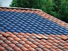 Finally, integrated solar panels.