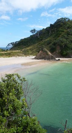 Just one of dozens of beaches in the Bay of Islands - Northland, NZ