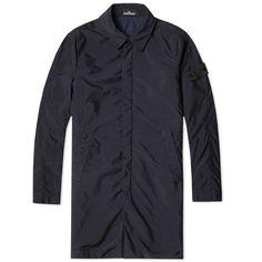 Stone Island Shadow Project Garment Dyed Anti-Drop Mac (Navy)