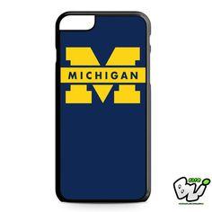 Blue Michigan iPhone 6 Plus Case | iPhone 6S Plus Case