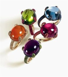 These stones though... Caramelle de Pomelatto - Joaillerie: Pomellato a 40 ans
