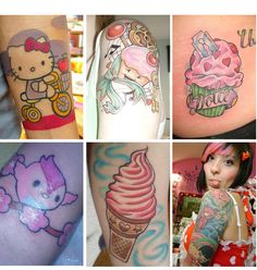 kawaii doe tattoo - Google Search