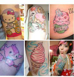 kawaii doe tattoo - Google Search