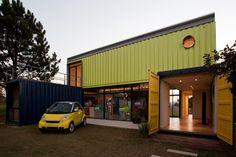 Container SA: 7 Sobrados com Containers entre 100 m² e 200 m²