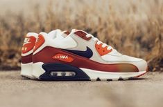 Nike Air Max 90 Essential - Mars Stone, Desert Sand & Obsidian Trainers All Size Dress With Sneakers, Wedge Sneakers, Air Max Sneakers, Sneakers Nike, Nike Free Shoes, Nike Shoes Outlet, Running Shoes Nike, Nike Air Max, Air Max 90