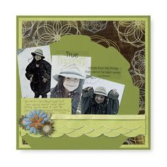 Nancy O'Dell Tearing Tool Scrapbooking Layout Idea #CreativeMemories    #scrapbooking   http://www.mycmsite.com/sites/write4jan