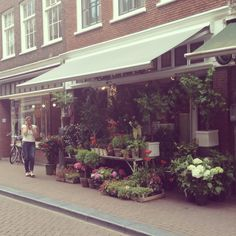 Flower store, herengracht