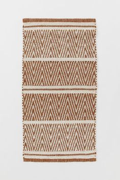 - Marron/beige clair - Home All Grey And Beige, Light Beige, H&m Home, Rectangular Rugs, Jute Rug, Jacquard Weave, Marketing Materials, Fashion Company, It's Your Birthday