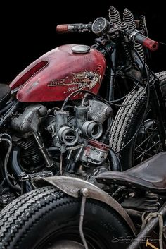 Custom bikes, classic and concept motorcycles from all over the world Harley Bobber, Chopper Motorcycle, Harley Davidson Chopper, Bobber Chopper, Vintage Harley Davidson, Motorcycle Art, Hot Rods, Custom Harleys, Custom Bikes