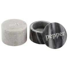 Thirstystone Marble Salt and Pepper Pinch, Black/White, http://www.amazon.com/dp/B00KM6ABBA/ref=cm_sw_r_pi_awdm_x_nqFgybAB0PSKG