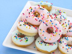 Easy Baked Mini Donut recipe from Bakers Royale | Cool Mom Picks