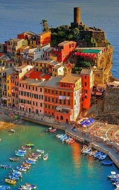 Village on the Sea ~ Vernazza ~ Italy