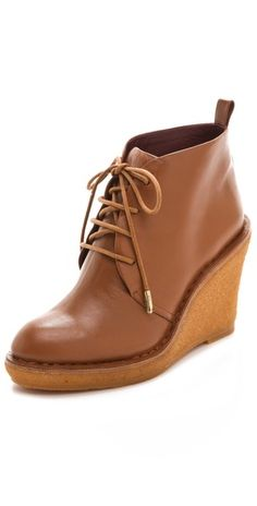 Marc by Marc Jacobs Classic Lace Up Wedge Booties | SHOPBOP