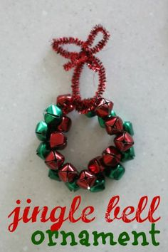 Jingle Bell Ornament from @Jenae Stevens {I Can Teach My Child!}. Very simple, and children love noisemakers.