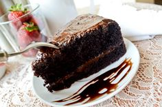 In the movie Matilda, the Matilda chocolate cake recipe is basically the same as a Devil's food chocolate cake recipe. Santa Barbara Chocolate has crafted a chocolate cake recipe that is the best of both cake types.