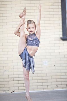 Peyton Heitz. Another one of my favorite young dancers from dance precisions.