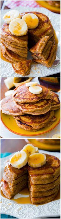 FooF Drink: Whole Wheat Banana Pancakes