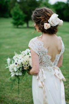 Romantic Claire Pettibone Gown