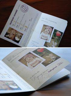 Lehani & D.J.'s passport wedding invites - Blog - Seven Swans Wedding Stationery