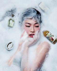 Hwang Gippeum by Cha Hyekyung for Vogue Korea Feb 2015