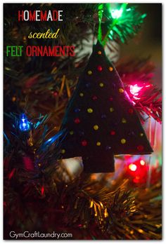 Easy Christmas Craft for Kids and DIY scented ornament.