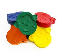 Monkey crayons - Handmade Crayons - Animal Shaped Crayons - Gift for Kids - Set…