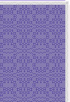 draft image: Threading Draft from Divisional Profile, Tieup: Crackle Design Project, Draft #13504, 8S, 8T