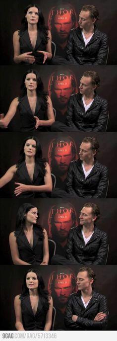 Its ok, cause he's Loki