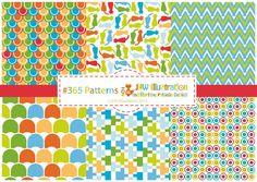 J.L.W Illustration: #365 Patterns