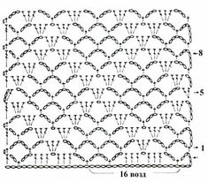 Crochet Shell Pattern, Crochet Shell Stitch, Crochet Diagram, Crochet Stitches Patterns, Crochet Chart, Crochet Motif, Crochet Designs, Crochet Hooks, Free Crochet